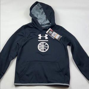 NWT Under Armour hoodie boys sweatshirt YSM